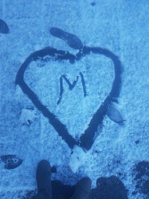 """Herz mit """"M"""""""